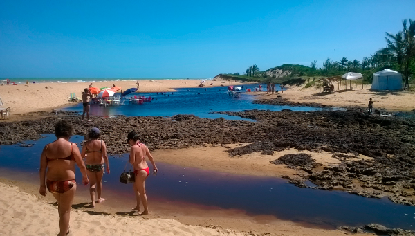 Praias no norte do Espírito Santo: Praia do Riacho Doce