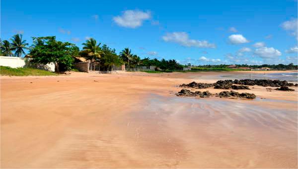 Praias no norte do Espírito Santo: Praia do Rio Preto
