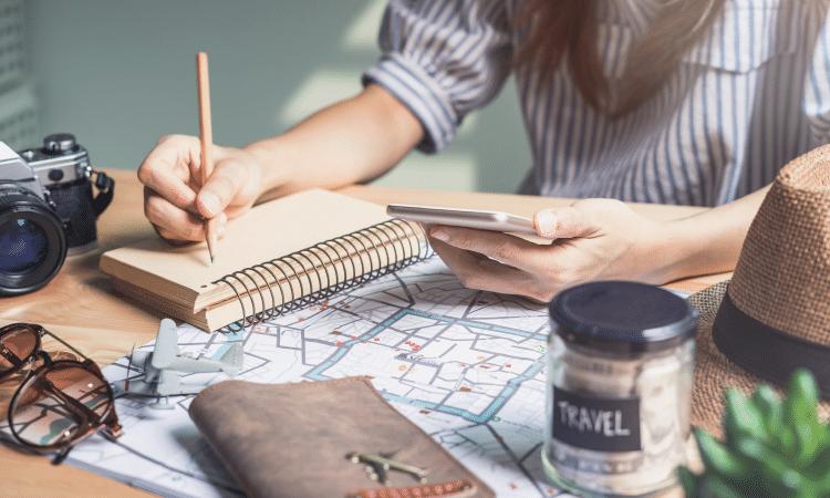 como planejar uma viagem?